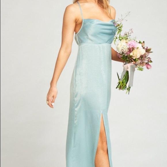 5c7fabbf9 Show Me Your MuMu Dresses | Showmeyourmumu Dress Silver Sage In ...